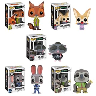 Funko Zootopia POP! Disney Vinyl Collectors 5-piece Set