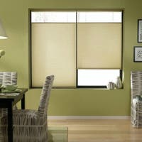 Cordless Top-down Bottom-up Ivory Beige Cellular Shades 50 to 50.5-inch Wide