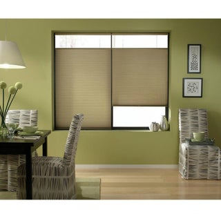 Cordless Top Down Bottom Up Cellular Shades in Gold Rush (48 to 48.5 Inches Wide)