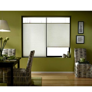 First Rate Blinds Cordless Top Down Bottom Up Cellular Shades In Cool White (48 to 48.5 Inches Wide)