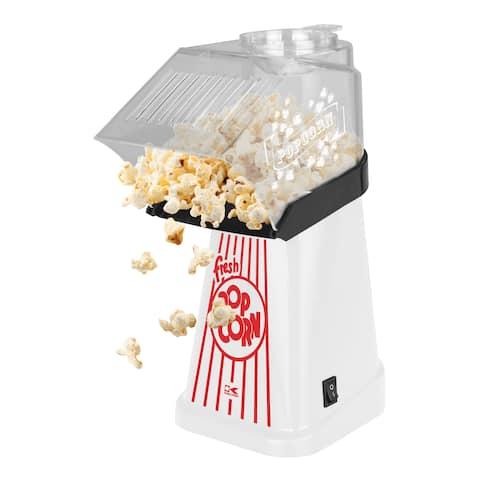 Kalorik White Healthy Hot Air Popcorn Maker