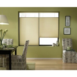 Cordless Top-down Bottom-up Ivory Beige Cellular Shades 46 to 46.5-inch Wide