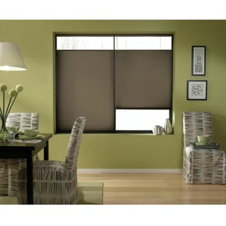 Cordless Top Down Bottom Up Cellular Shades in Espresso (46 to 46.5 Inches Wide)