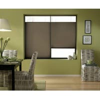 First Rate Blinds Cordless Top Down Bottom Up Cellular Shades in Espresso (46 to 46.5 Inches Wide)