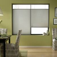 First Rate Blinds Cordless Top Down Bottom Up Cellular Shades in Silver (46 to 46.5 Inches Wide)