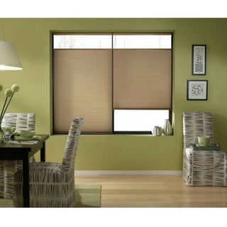 Cordless Top Down Bottom Up Cellular Shades in Antique Linen (44 to 44.5 Inches Wide)