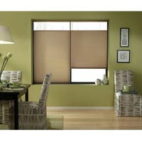 First Rate Blinds Cordless Top Down Bottom Up Cellular Shades in Antique Linen (44 to 44.5 Inches Wide)