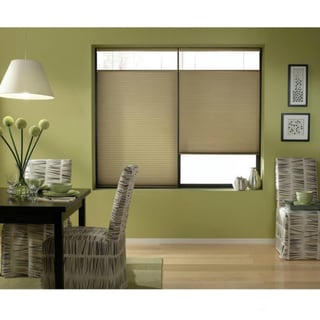 Cordless Top Down Bottom Up Cellular Shades in Gold Rush (44 to 44.5 Inches Wide)