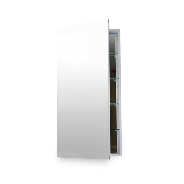 Flawless 24x40 Medicine Cabinet With Blum Soft Close Door Hinges    Mirror/Aluminum