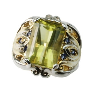 One-of-a-kind Michael Valitutti Oruo Verde Ring.