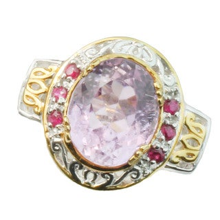 Michael Valitutti  Kunzite Ring
