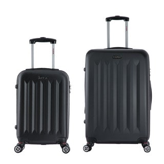 InUSA Philadelphia 2-piece Lightweight Hardside Spinner Luggage Set