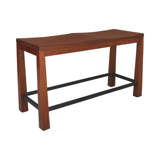 Unfinished Solid Parawood Trestle Bench Prices Reviews
