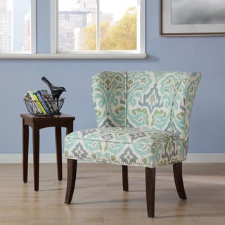 Madison Park Sheldon Printed Armless Accent Chair