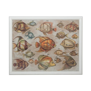 Guildmaster Tropical Fish Study Wall Art