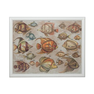 Guildmaster Tropical Fish Study Wall Art