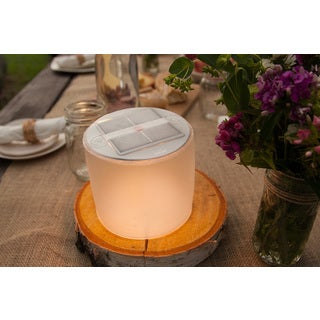 LUCI Lux Inflatable LED Solar Frosted Finish Lantern