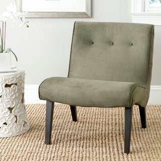 Safavieh Mid-Century Mandell Forest Green Chair