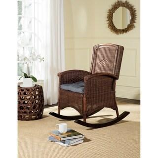 Safavieh Verona Brown Rocking Chair