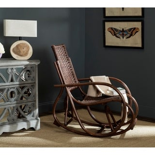Safavieh Bali Brown Rocking Chair
