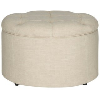 Safavieh Tanisha Wheat Shoe Storage Ottoman
