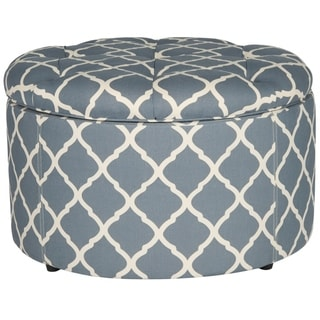 Safavieh Tanisha Grey Shoe Storage Ottoman