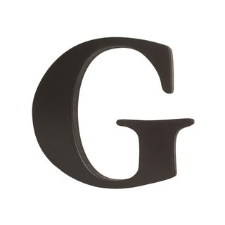 Little Haven Espresso Hanging Wall Letter G