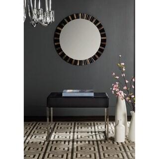 Safavieh Modern Glam Roitfeld Black Ottoman