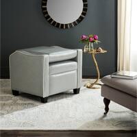 Safavieh Holden Grey/ White Recliner Chair