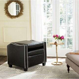 Safavieh Holden Black/ White Recliner Chair