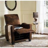 Safavieh Holden Vintage Brown Recliner Chair