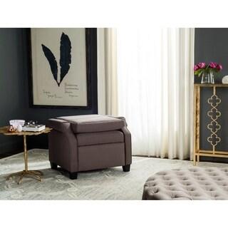 Safavieh Hamilton Dark Taupe Recliner Chair