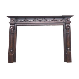 D-Art Oxford Mahogany 71-inch Fireplace Mantle (Indonesia)