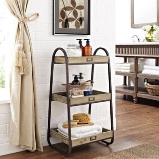 Linon Three Tiered Bath Stand