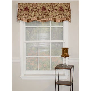 "RLF Home Paisley Dream Glory 50"" Window Valance"