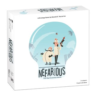 Nefarious The Mad Scientist Game
