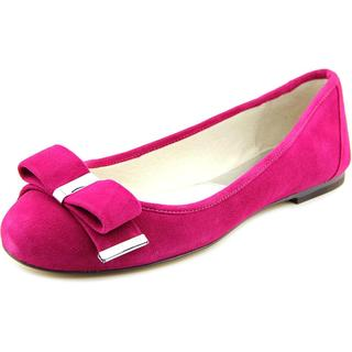 Michael Michael Kors Women's 'Kiera Ballet' Regular Suede Dress Shoes