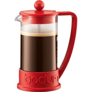 Bodum 10948-294BUS Brazil French Press Red 12-ounce Coffee Maker