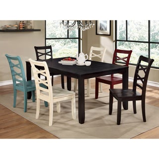 Furniture of America Crane Simple 7-piece Espresso Dining Set