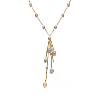 Collette Z Sterling Silver Multi Strand Necklace