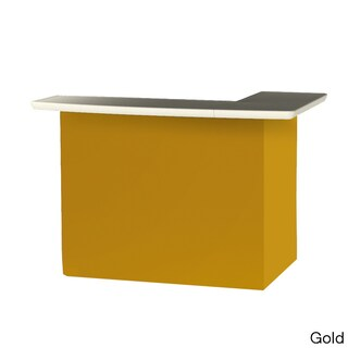 Best of Times Solid Colors Portable Patio Bar (Option: Solid Gold)