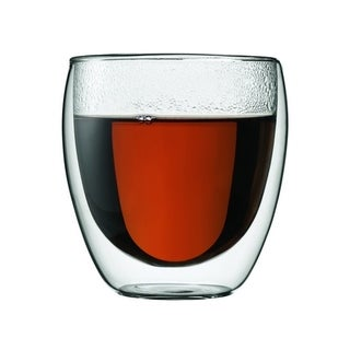 Bodum 4558-10US4 Pavina Double Wall Clear 8-ounce Glasses (Set of 2)