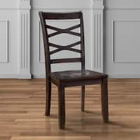 Copper Grove Bedgebury X-back Dining Chairs (Set of 2)