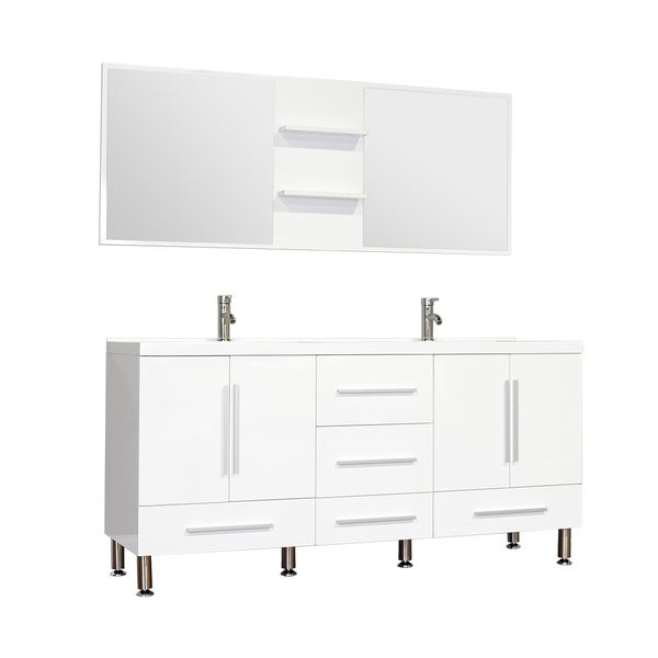 alya bath ripley collection 67 inch double modern bathroom