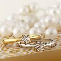 Auriya 18k Gold 1/3ct TDW Round Solitaire Diamond Engagement Ring