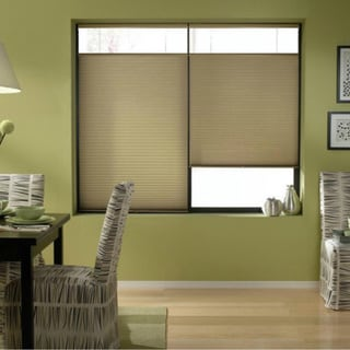 Cordless Top Down Bottom Up Cellular Shades in Gold Rush (51 to 51.5 Inches Wide)