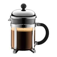 Bodum 1924-16US4 Chambord French Press Chrome 17-ounce Coffee Maker