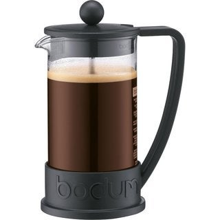 Bodum Brazil French Press Black 12-ounce Coffee Maker