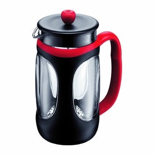 Bodum 10096-364US4 French Press Red/ Black 34-ounce Coffee Maker