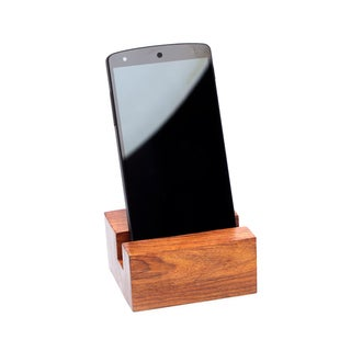 Solid Rosewood Phone Stand (India)